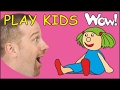 Play Kids | Play with Steve and Maggie | Toys for Kids on Wow English TV