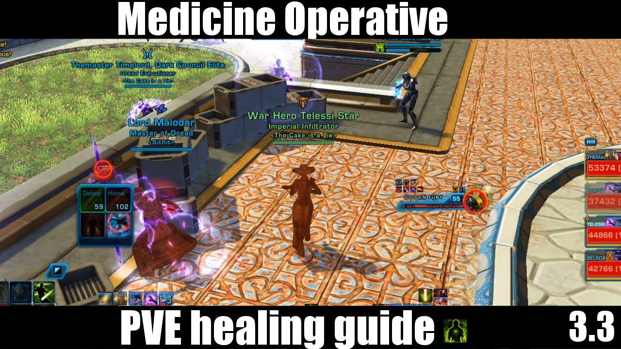 Hottie's 4.0 Guide to PvP Operative/Scoundrel Healing