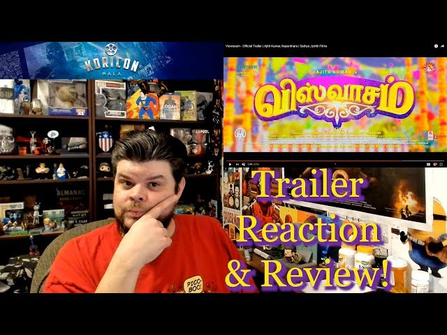 🎥 Viswasam - Tamil Trailer Reaction Review!
