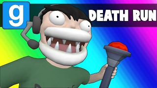 Gmod Deathrun Funny Moments - Nogla's Game Reference Gauntlet! (Garry's Mod)