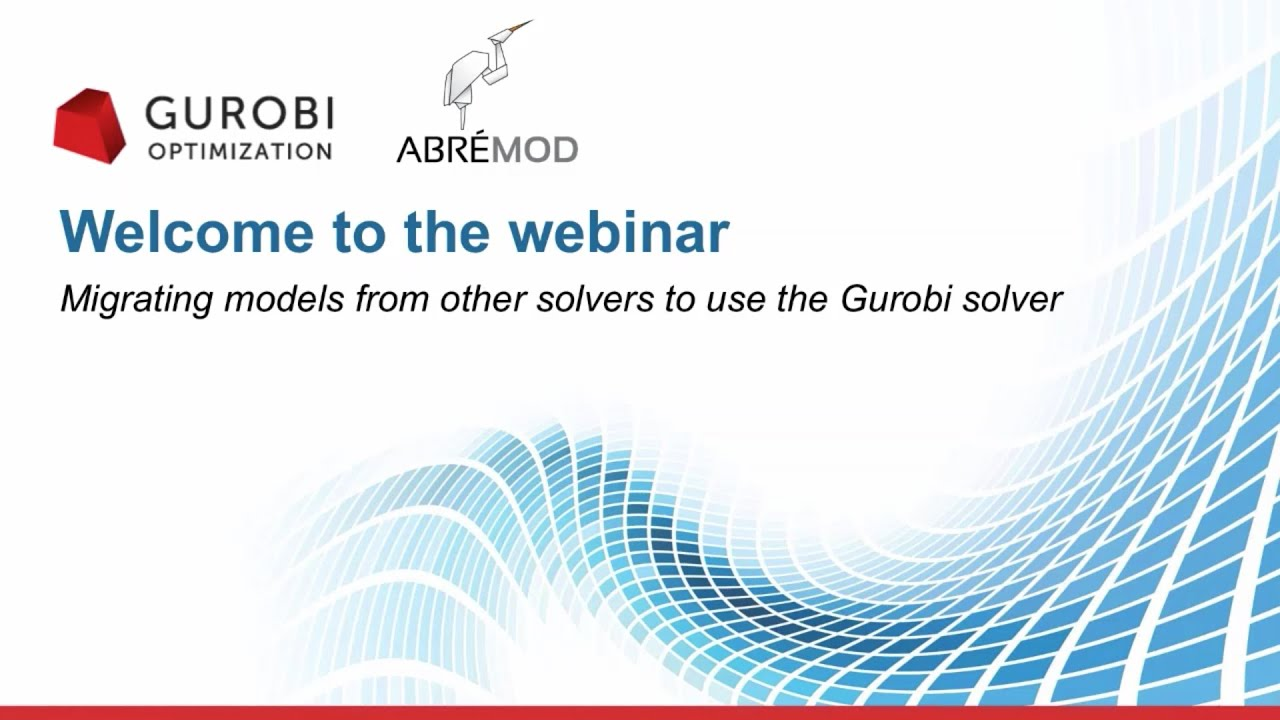 Switching to Gurobi From Another Solver - Gurobi
