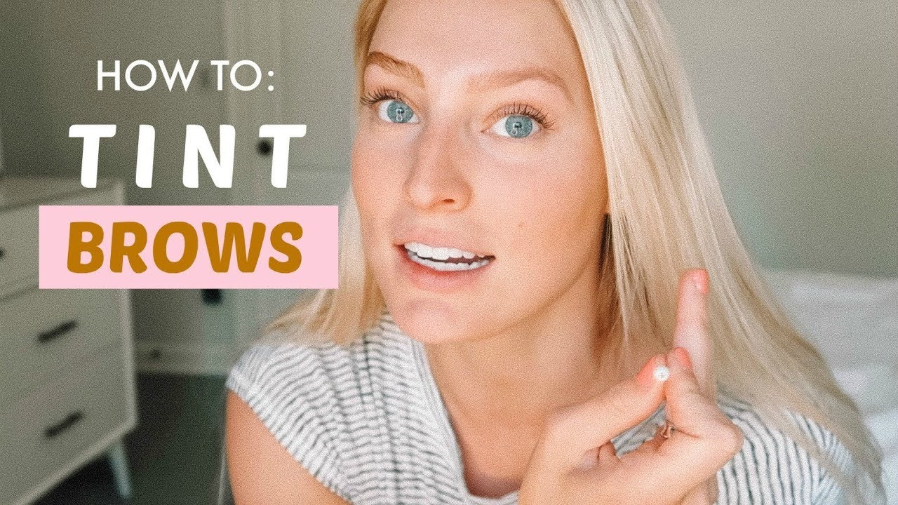 How To Tint Your Eyebrows For Super Light Brows Just For Men Beard