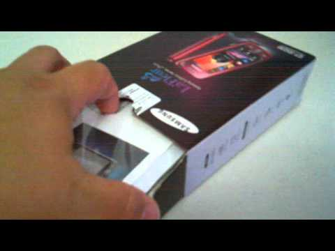 Samsung GT-S5230 La`Fleur Garnet Red Unboxing Video - Phone in Stock at www.welectronics.com