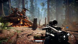 Battlefront 2 | Xbox One X 4K Gameplay | Endor