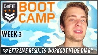 Extreme Results Workout Diary With Joey Gatto: Week 3- Befit Bootcamp