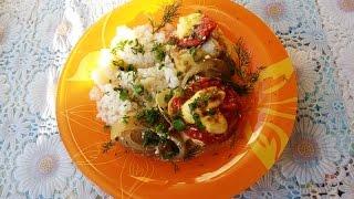 Рецепт как приготовить рыбу  в фольге за 40 минут - how to cook fish in foil for 40 minutes