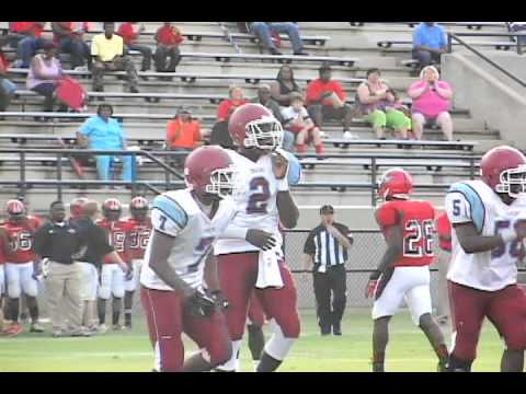 Central vs Carver Football 8.22.2013 Garrett-Harrison Stadium
