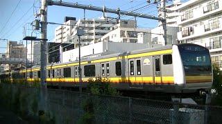 JR南武線E233系8000番台N3編成快速川崎行き 平間駅通過