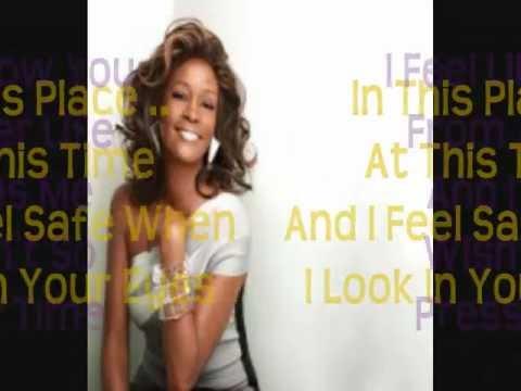 Whitney Houston  Call You Tonight HD Full Lyrics On Screen