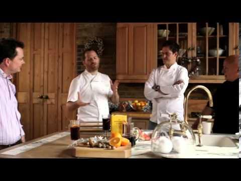 Three wise chefs interview - Aldo Zilli, Valentine Warner and Bryn Williams