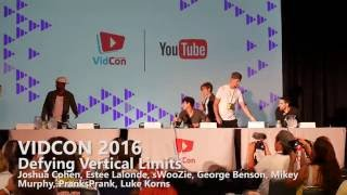 VIDCON 2016 Panel Defying Vertical Limits #VIDCON