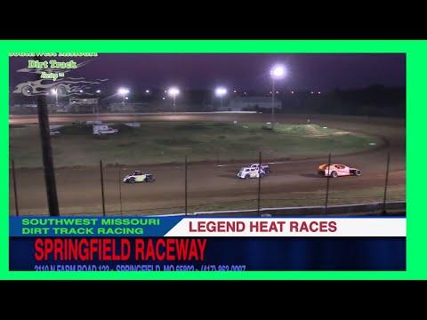 Legend Heat Races Springfield Raceway September 2, 2017