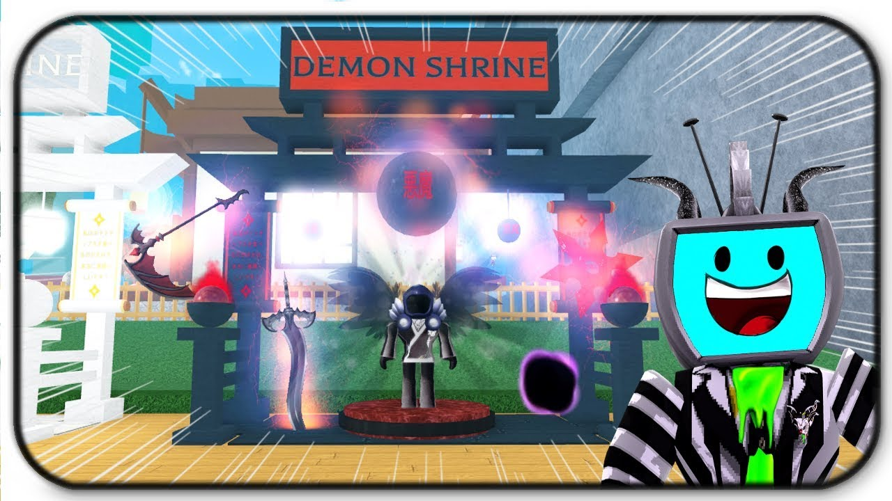 Code Roblox Ninja Simulator 2 Demon Ninja Set Youtube