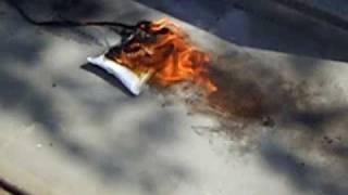 Lipo Battery Fire Containment Test