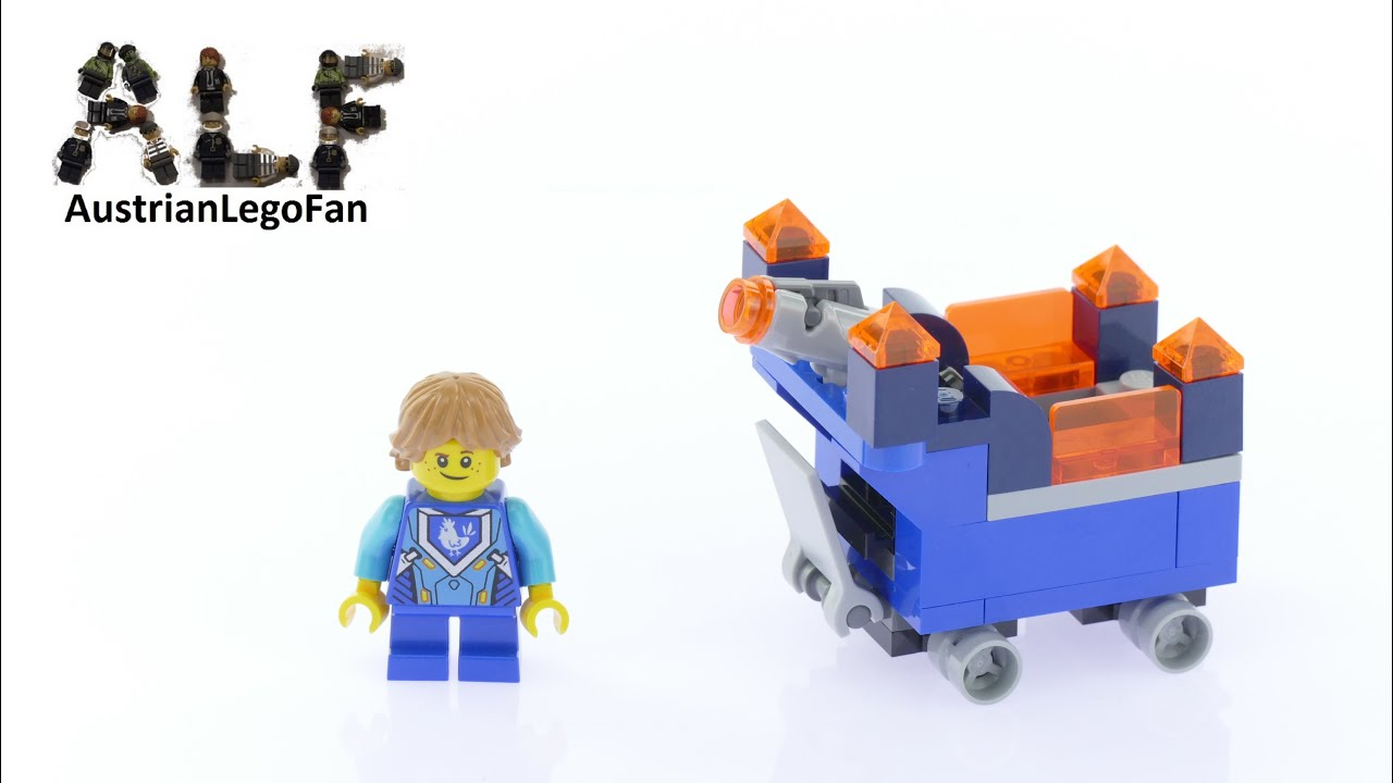 nexo knights fortrex instructions