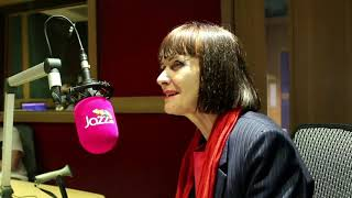 Corinne Drewery in conversation at Jazz FM
