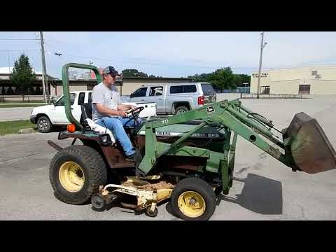 John Deere 855 tractor for sale at auction | bidding closes July 23, 2019
