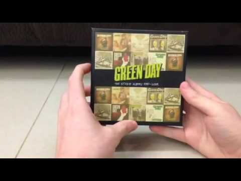 Unboxing Green Day - The Studio Albums 1990 - 2009 Boxset