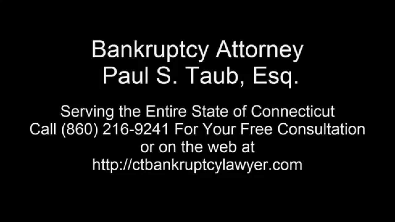 Top Bankruptcy Lawyers CT | Bankruptcy Tip Number One - Bankruptcy Eligibility