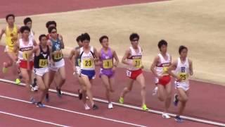 第65回大阪学生陸上競技選手権大会 男子5000m決勝 2017.04.05 於:ヤン...