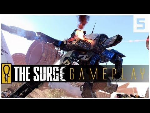 THE SURGE GAMEPLAY PC - PART 5 - Who Is Benjamin Burke  - Let's Play The Surge Gameplay