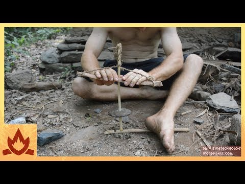 Cord drill and Pump drill - Primitive Technology