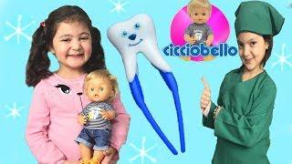 CİCCİOBELLO'NUN İLK DİŞİ ÇIKTI ÖYKÜ BEBEĞİNİ DİŞ DOKTORUNA GÖTÜRDÜ - My New Toys Cicciobello