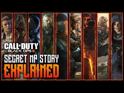 Black Ops 3 - SECRET MP BACKSTORY EXPLAINED! - ALL SPECIALIST TRANSMISSIONS EXPLANATIONS
