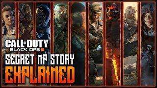 One of eColiEspresso's most viewed videos: Black Ops 3 - SECRET MP BACKSTORY EXPLAINED! - ALL SPECIALIST TRANSMISSIONS EXPLANATIONS