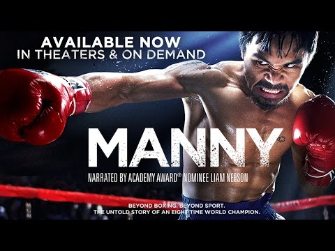 Universal Official Trailer Manny Pacquiao documentary narrated by Liam Neeson