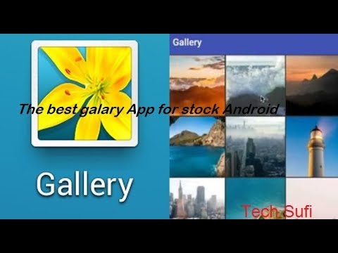 Simple Gallery App For Android Phone Ll Best Gallery For Stock Android