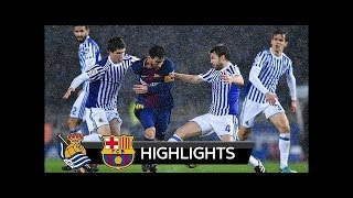Real Sociedad 2-4 Fc Barcelona