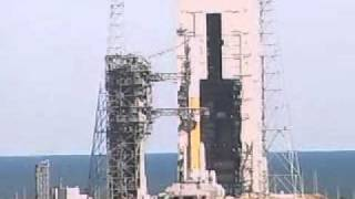 United Launch Alliance Delta IV WGS-4 Mobile Service Tower Rollback timelapse