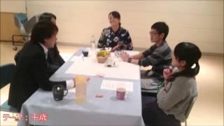 ケアカフェの様子 地域包括ケアシステムの要 千歳介護医療連携 北海道