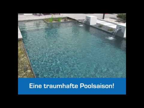 erste hilfe f r tr bes gr nes algiges pool wasser youtube. Black Bedroom Furniture Sets. Home Design Ideas