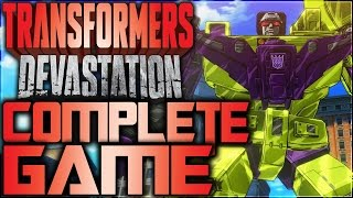 Transformers Devastation Walkthrough (Complete Game)