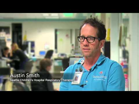 Working as a Respiratory Therapist at Seattle Children's Hospital