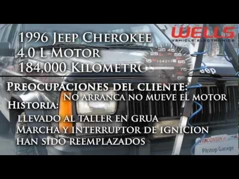 Jeep Cherokee 1999 >> Jeep no se arranque el motor, cuatro pines de diagnóstico de Enlace - YouTube