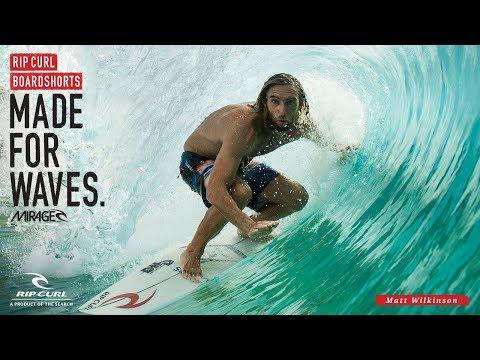 Matt Wilkinson | Mirage Wilko Blockade | Boardshorts by Rip Curl