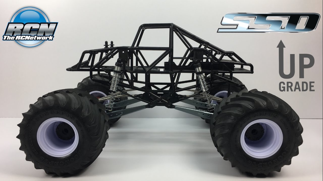 axial smt10 monster truck ssd upgrades ep2 youtube
