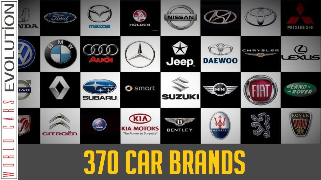 W C E 370 Car Brands A Z Company