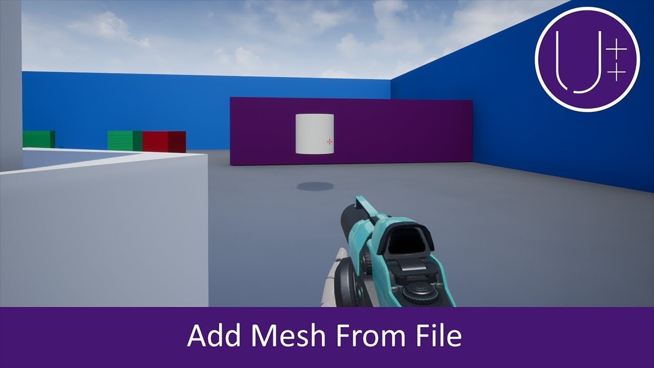 Unreal C++ | Add Mesh From File