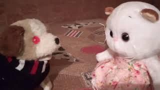 Кошка Лилу ищет своего друга зайчика Мими. Видео для детей