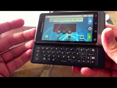 Motorola Milestone 2 Test - Teil 1: Unboxing und erste Eindrücke