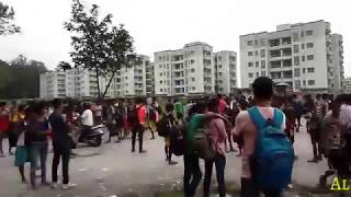 Indian army height rejected candidate in Siliguri