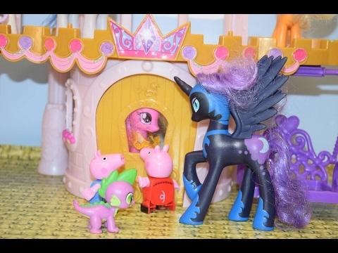 Bajka Świnka Peppa po polsku. Peppa leci samolotem pomóc kucykom My Little Pony
