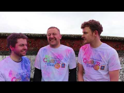 Young Offenders launch Colour Dash 2018