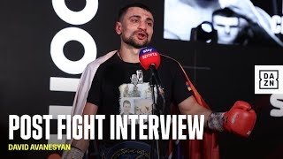 David Avanesyan Reacts To KO Stoppage of Josh Kelly