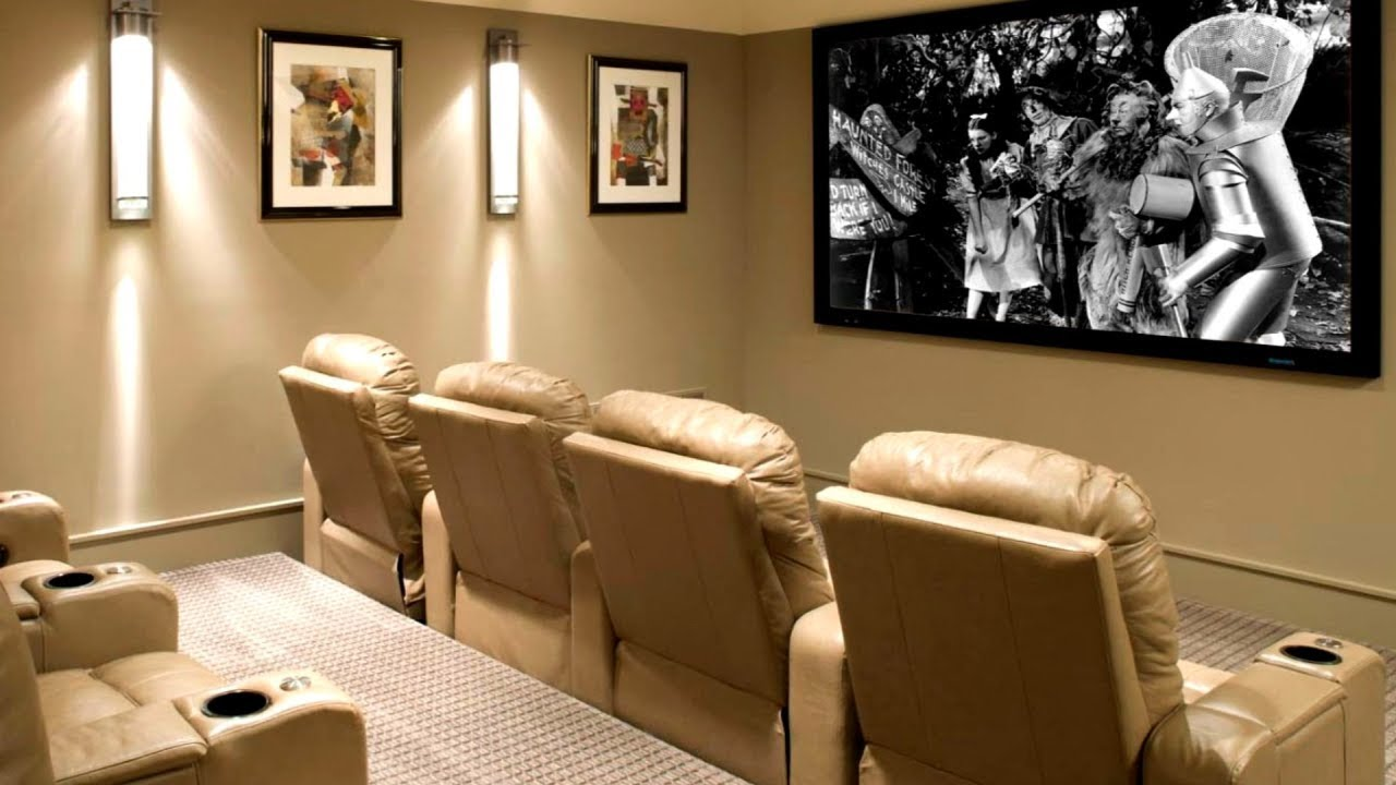 25 small media room ideas youtube - Small space room ideas ...