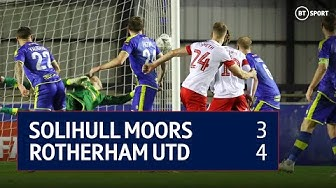 Solihull Moors vs Rotherham Utd (3-4) | Emirates FA Cup Highlights